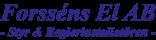 Forsséns Elektriska AB-logo